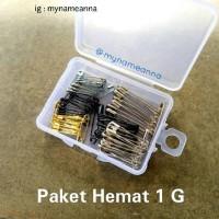 Paket Hemat 1 G ( Peniti Premium Newey dan Prym )