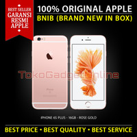 Garansi Resmi Apple Iphone 6s Plus 16 Gb - Rose Gold