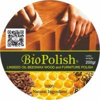 Jual Biopolish Linseed Oil - Beeswax Wood Polish & Furniture Care Murah
