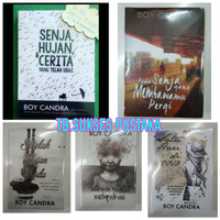Novel Karya Boy Candra. 5 Novel