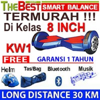 HOVERBOARD TOP QUALITY KW1 / 8 INCH SMART BALANCE 30 KM / HOVER BOARD