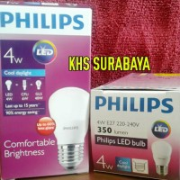 harga Lampu Led Philips 4 Watt Bohlam Philip Putih 4w Bulb Led Philip 4 W Tokopedia.com