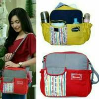 Jual Diaper bag/tas bayi kecil saku kerut /tas snobby line series TPT 1672 Murah