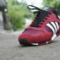 Sepatu Adidas Boston Super Neighborhood / Maroon Grade Ori-RN0236