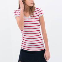 ZARA PRINTED T-SHIRT VARIOUS Size S, M | Baju Atasan Wanita Kaos Impor