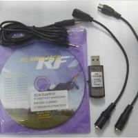 USB RC Simulator Cable RF-G 6.5/6/5 Online PX4.0 XTR FMS A-Fly VRC2