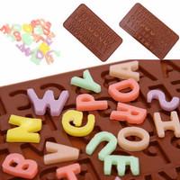 Cetakan Coklat Alphabet