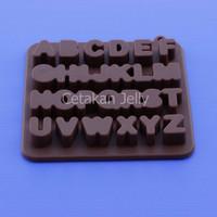 Cetakan Coklat Alphabet II
