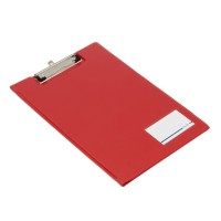 Bantex Clipboard With Cover Folio Red #4211 09