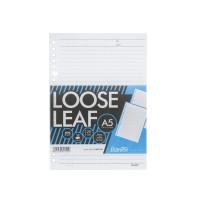 Bantex Loose Leaf Paper 20 Holes 80 gsm 50 Sheets A5 #8601 00