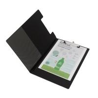 Bantex Clipboard With Cover Folio Black #4211 10