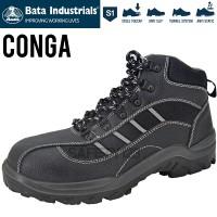 Bata Conga Sepatu Safety Shoes Industrials Casual Big Size Termurah