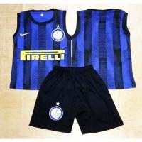 Harga setelan baju bola anak bayi singlet inter | antitipu.com