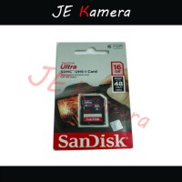 MEMORY SANDISK SD 16GB CLASS 10 SPEED 48