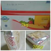 Keju Edam/Cheese Edam+Cheesy Edam 200gr+Keju Tua/Keju Untuk Kue Kering