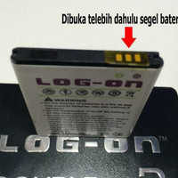 Baterai Log On Double Power Mito A210 / A810 - 2800mAh