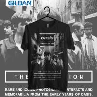 Jual Oasis - Poster Kaos Band Original Gildan Murah