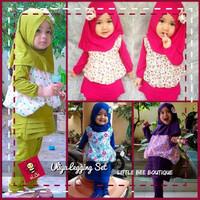 EXCLUSIVE Baju Muslim Anak Perempuan, Baju Anak untuk Lebaran, Baju An