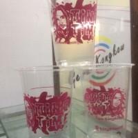 Sablon Gelas Plastik / Cup PP 7gr ( 12-16oz)