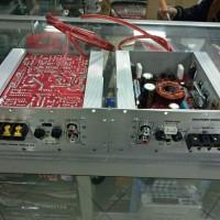 Kit Audio Mobil Bass Tube Subwoofer Power Amplifier DC 12V