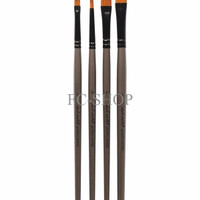 SPECIAL Mont Marte Gallery Series Brush Jg Acrylic Set 4