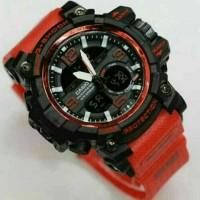 JAM TANGAN PRIA G-SHOCK GG 1000 RED BLACK