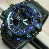 JAM TANGAN PRIA G-SHOCK GG1000 BLACK WITH BLUE LIST