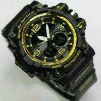 JAM TANGAN PRIA G-SHOCK GG1000 BLACK GOLD