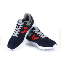 Sepatu casual piero Jogger Supernova navy/grey/red original new 2017