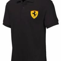 harga Kaos Polo Ferrari Polo/shirt Tokopedia.com