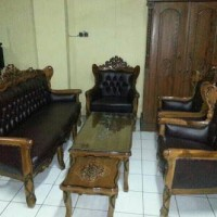 Kursi Sofa Murah Bahan Kayu Jatu
