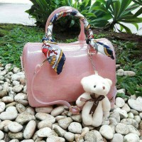 TAS FURLA SPEEDY GLITTER WITH DOLL+ SCARF