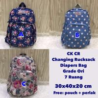 STOCK TERBATAS Cath Kidston CR - Changing Rucksack Diapers Bag Kualita