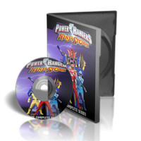 DVD Power Rangers Ninja Storm