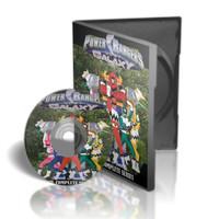 DVD Power Rangers Lost Galaxy