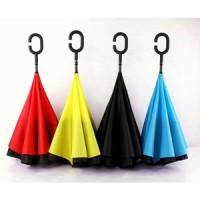Payung Terbalik Kazbrella / Reverse Umbrella Gagang C Unik