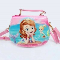 BAG 0052 Tas Fashion Anak Import Cute Princess Sofia