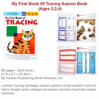 My First Book Of Tracing Kumon Book (Ages 2,3,4)