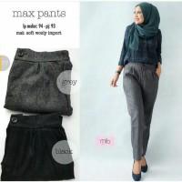 Celana Wanita / Celana Kantor / Celana Bahan / Celana Panjang Max pant