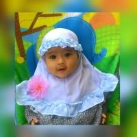 Jual hijab bayi/ jilbab bayi bb polkadot Murah