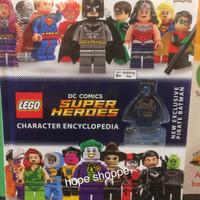 Buku Import LEGO Super Heroes DC Comics Character Encyclopedia DK