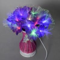 harga Orginal Beautiful Flower Fiber Led (vas Bunga Fiber Optic Led Light) Tokopedia.com