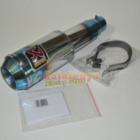 harga Knalpot Jupiter Mx New/old/king Akrapovic Gp M1 Lorenzo Half Blue Tokopedia.com