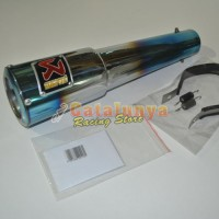 harga Knalpot Racing Jupiter Mx New/old/king Akrapovic Gp Pedrosa Halfblue Tokopedia.com
