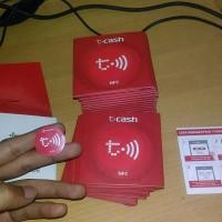 Telkomsel Cash / T-Cash / Tcash Tap Brand New
