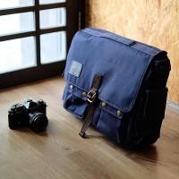 Jual Tas Kamera Selmpang / Sling Bag / Messenger Bag HONX HNX 006 Navy Murah
