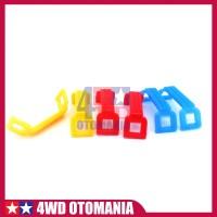 Tamiya # Mini 4WD Kunci Battery (6pcs) - H.G