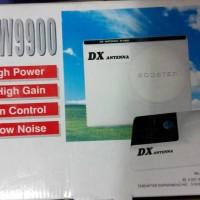 DX Antenna DX-W9900 Booster TV Penguat Sinyal Penghilang Bintik Semut