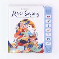 Buku Musik Lagu Tradisional Indonesia RASA SAYANG Sing-and-Record Fun