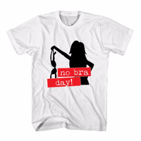 Tumblr Tee / T-Shirt / Kaos Wanita No Bra Day